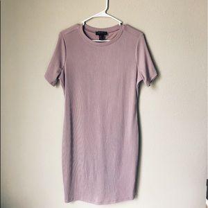 Lilac T-Shirt Dress